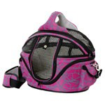 Carrier bag bed Shopper Deluxe for pets Colour Pink