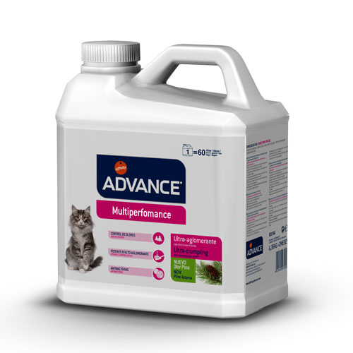 Arena Aglomerante para Gatos Advance Multiperformance