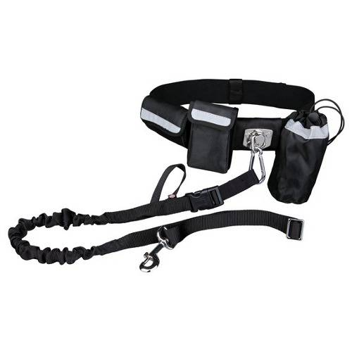 "Cinturón de canicross ""manos libres"" para correr con mi perro"