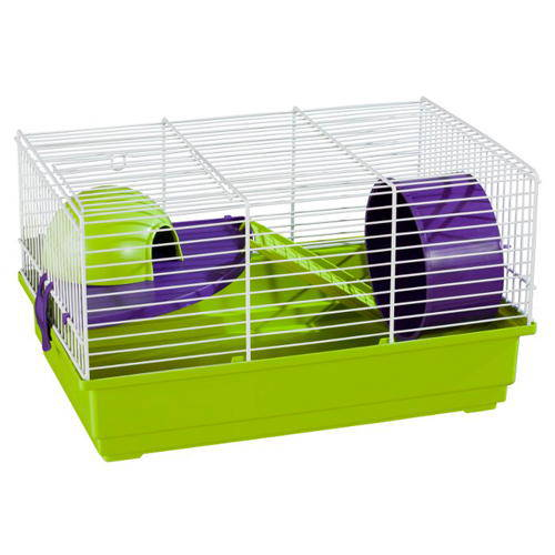 Small hamster cage rectangular with ladder tiendanimal for 7194 garden pond
