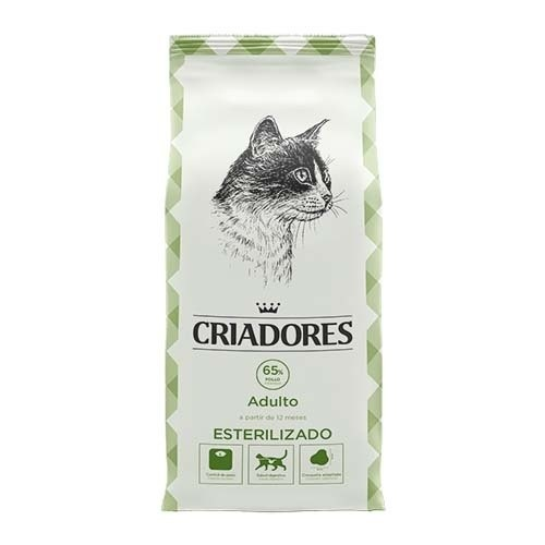 Food for cats Criadores special sterilized with chicken