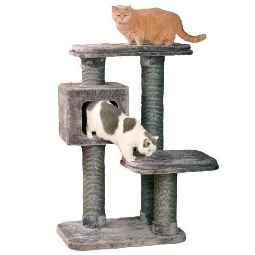 Rascador con refugio cama para gatos Big Cat
