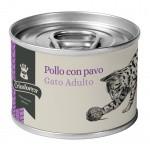 Alimento húmedo para gatos Criadores pollo y pavo 170 gr