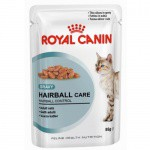Royal Canin Hairball Care húmedo en salsa para gatos