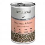 Amanova Puppy Grain Free con salmón y patata