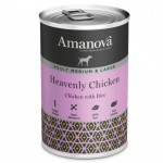 Amanova Adult Medium & Large pollo y arroz