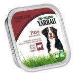 Paté ecológico Yarrah de ternera y espirulina