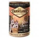 Comida húmeda Carnilove Salmon & Turkey cachorros