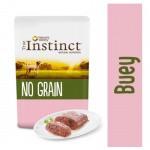 True Instinct No Grain Mini paté buey y verduras