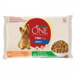 Purina One Mini Adult Pollo y cordero en salsa