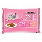 Purina One Junior Salmón en salsa