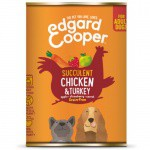 Lata Edgard & Cooper Pollo y Pavo para perros