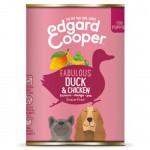 Lata Edgard & Cooper Pato y Pollo para cachorros