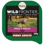 Paté Nutro Wild Frontier pavo y pollo para perros