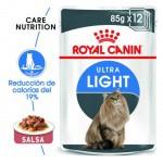 Royal Canin Ultra Light en salsa alimento húmedo para gatos