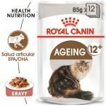Royal Canin Ageing 12+ comida húmeda para gato sénior en salsa