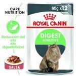 Royal Canin Digest Sensitive comida húmeda para gato adulto en salsa