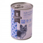 Wet dogs food Criadores chicken and salmon with carrots 400 gr