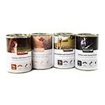 Pack tasting Breed Up wet food for for senior dogs