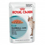 Royal Canin Hairball Care wet cat food in sauce