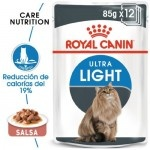 Royal Canin Ultra Light en salsa alimento húmedo para gatos