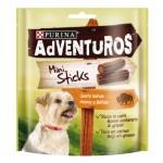 Snacks Purina Adventuros Mini Sticks con aroma a búfalo