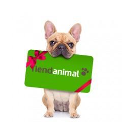 tarjeta regalo tienda animal