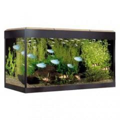 acuario de cristal fluval roma roble