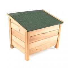 Casetas de madera para perros tiendanimal for Casetas para almacenaje