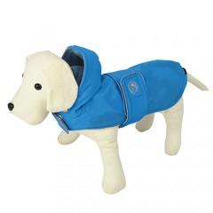gama completa de artículos último clasificado buena textura Impermeable para perros Dancing Rain azul