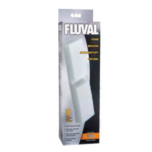 Carga Filtrante Foamex 3 pcs para filtro Fluval FX5