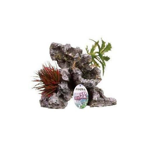 Roca con Plantas Decorativa Pequeña MARINA