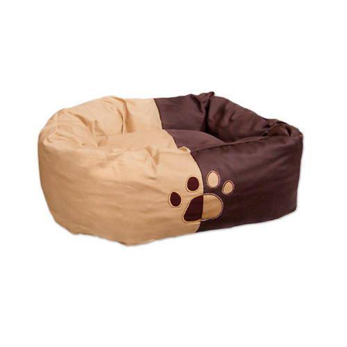 Cama donut chocolate para perro