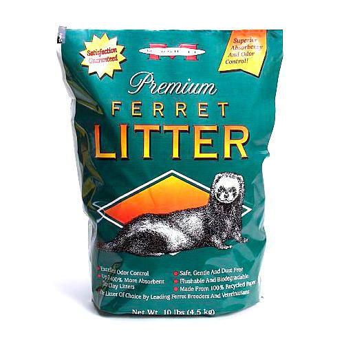 Premium ferret litter,Lecho higiénico absorbente para hurones