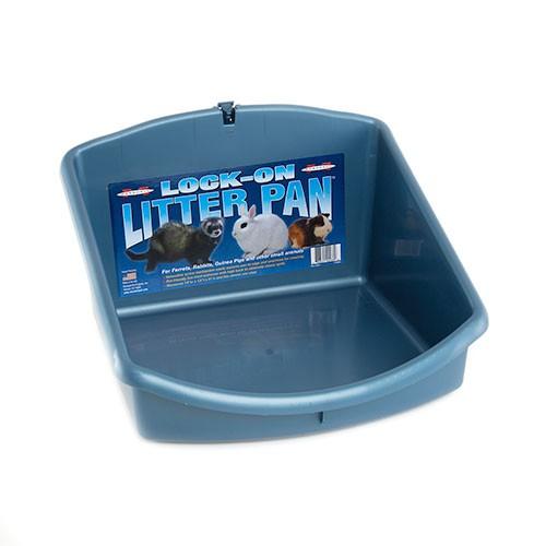 Lock On litter pan
