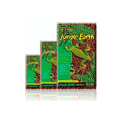 Sustrato Tropical Jungle Earth