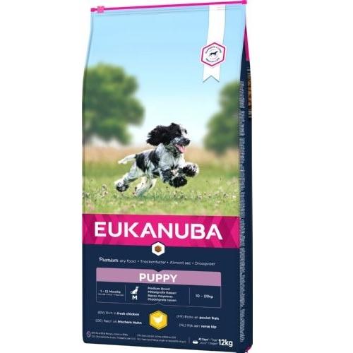 Eukanuba Puppy&Junior Razas Medianas