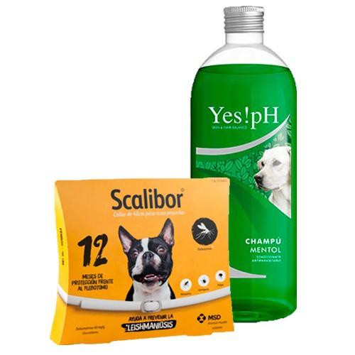 Pack Antiparásitos Doble acción para perro pequeño y mediano