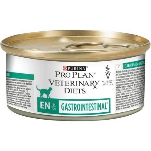 Comida húmeda PURINA PRO PLAN VETERINARY DIETS EN Gastrointestinal para gatos