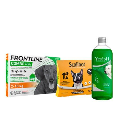 Pack antiparasitario TOTAL con Scalibor para perros pequeños