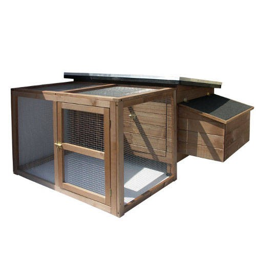 Pack chicken coop + Cage Technical Pet Rocky Modular