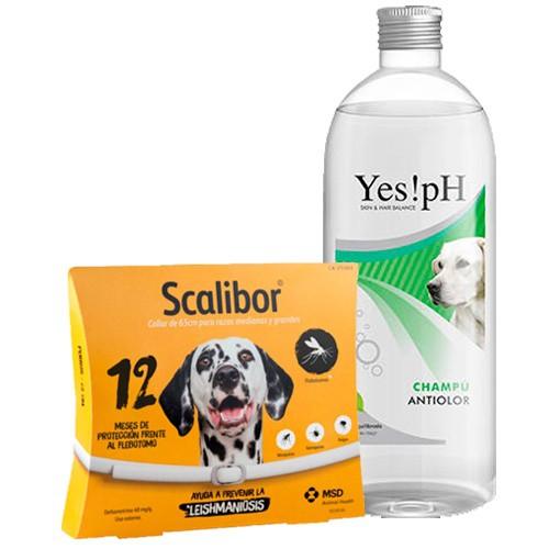 Súper pack antiparasitario Scalibor para perros grandes