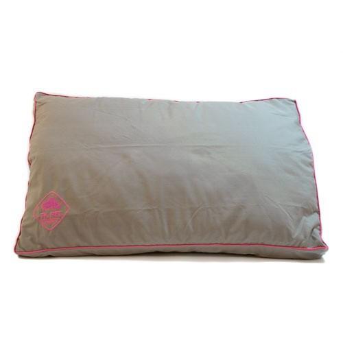 Funda marrón de cama viscoelástica tipo colchón TK-Pet Woof