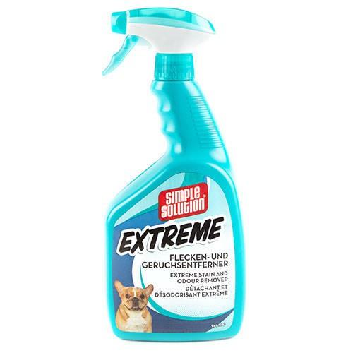 Eliminador de olores y manchas Simple Solution Extreme perros