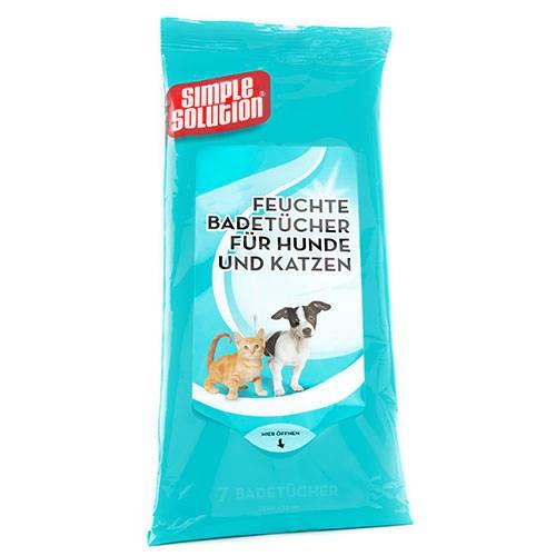 Toallitas higiénicas para perros Simple Solution extra absorción