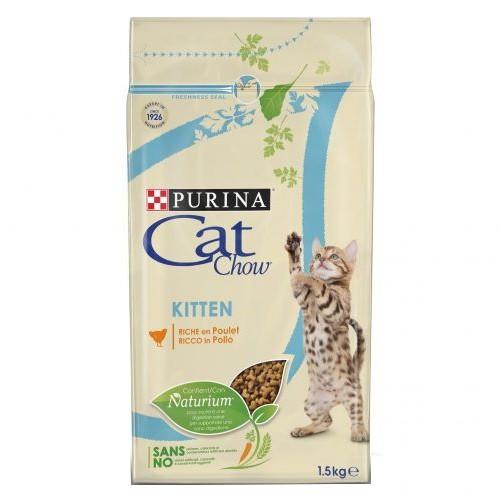 Pienso para gatitos Cat Chow Kitten