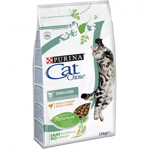 Pienso para gatos esterilizados Cat Chow Sterilised