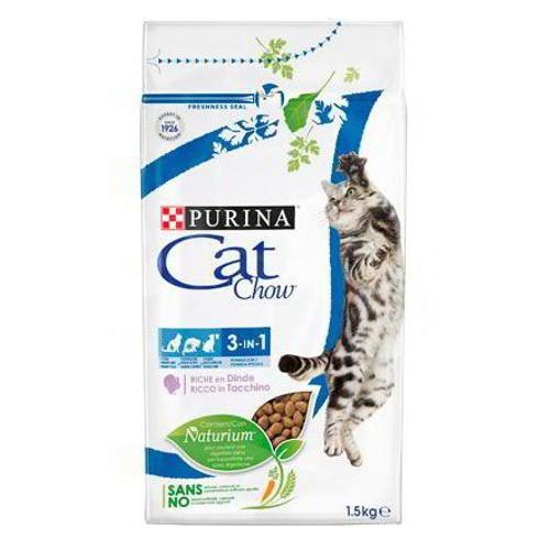 Pienso para gatos Cat Chow 3 en 1