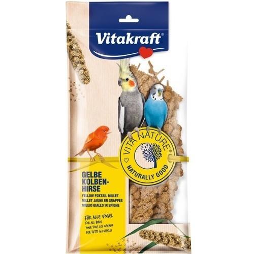 Vitakraft Comida para pájaros espigas de mijo