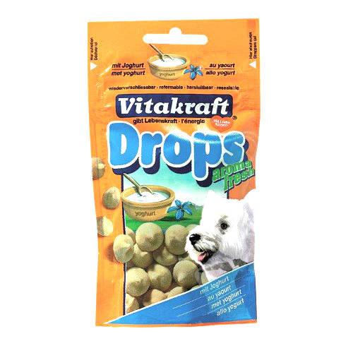 Vitakraft snacks para perros en bocaditos con yogurt